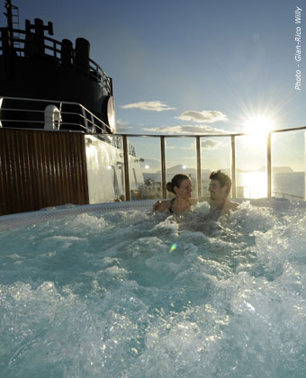 Try a jacuzzi all-year-round