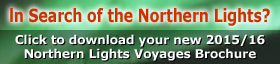Download the Northern Lights Direct Flights Brochure for 2013/2014