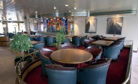 ms Finnmarken Seating area